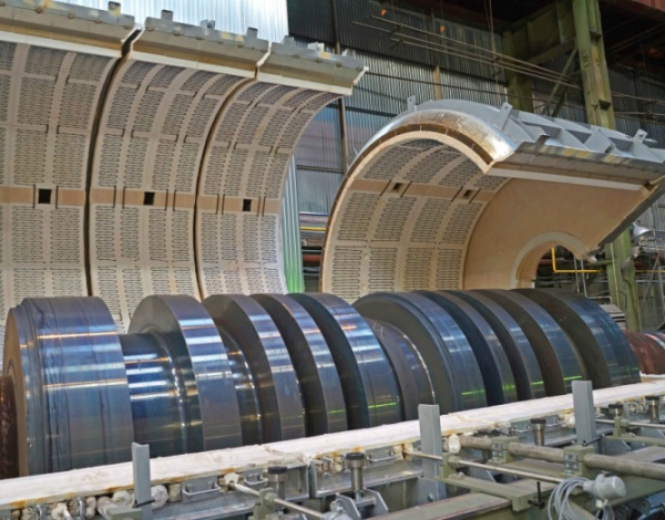Компания ОМЗ-Спецсталь продолжает капитальный ремонт кузнечно-прессового оборудования