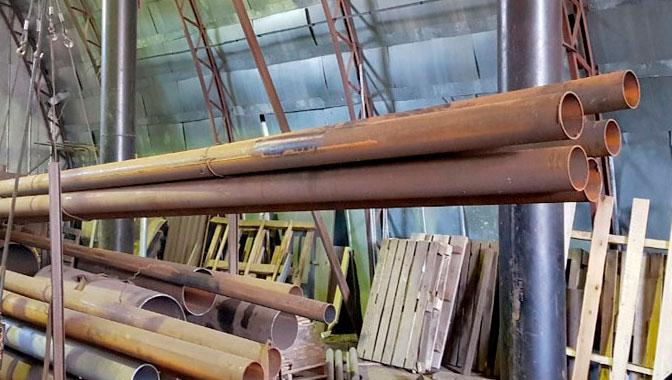 Труба стальная. Купить металл в Смоленске